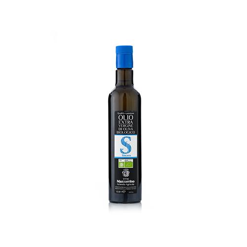 Olio extravergine di oliva Biologico SINCERO – 12 bottiglie da 500 ml