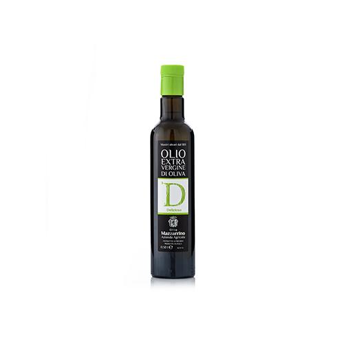Olio extravergine di oliva DELIZIOSO – 6 bottiglie da 500 ml