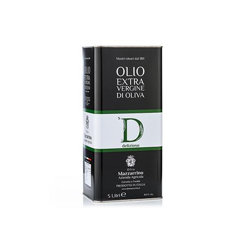 Olio extravergine di oliva DELIZIOSO – 2 lattine da 5 litri
