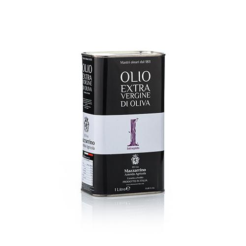 Olio extravergine di oliva INTREPIDO – 6 lattine da 1 litro