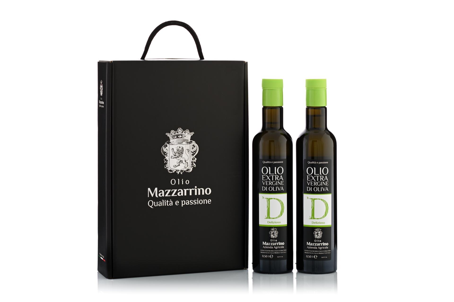 Confezione Regalo Olio Mazzarrino 2 x 500 ml